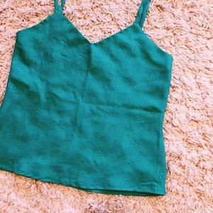 Vintage Tops - Vintage Mirrors Sea Foam Green Tank